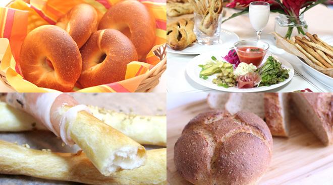 パンをゆっくり楽しむランチコース
