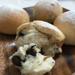 米粉黒豆パン